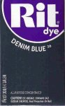 Rit Dye Powder Denim Blue Dye
