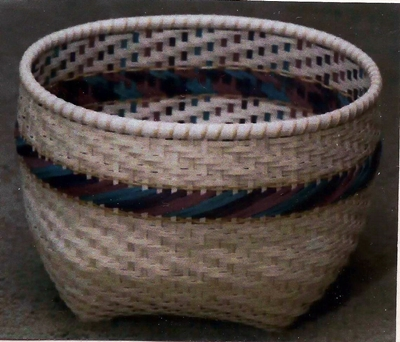 Anniversary Basket Pattern, Double Wall Cathead.