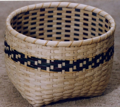 Arlington Basket Pattern, Double Wall Cathead.