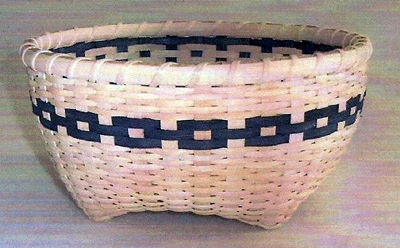 Braeburn Basket Pattern, Double Wall Cathead.