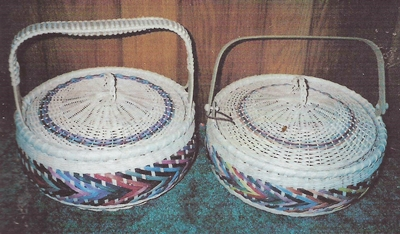 Bright Arrow Basket Pattern