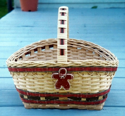 Christmas Willy Basket Pattern