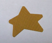 Star, Wooden Primitive Shaped