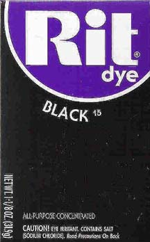 Rit Dye Powder Black Dye