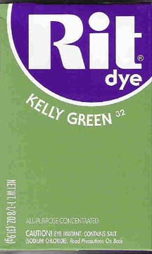 Rit Dye Powder Kelly Green Dye