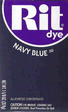 Rit Dye Powder Navy Blue Dye