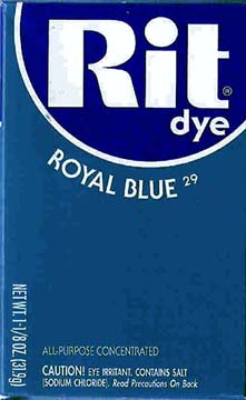 Rit Dye Powder Royal Blue Dye