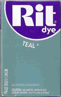 Rit Dye Powder Teal Dye