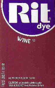 Rit Dye Powder Wine Dye