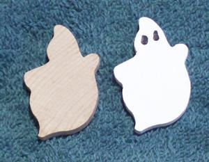 Ghost, Wooden Unpainted