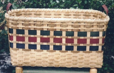 Fancy Laundry Basket Pattern
