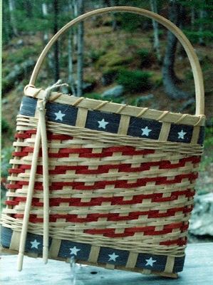 Fife and Drum Wall Basket Pattern
