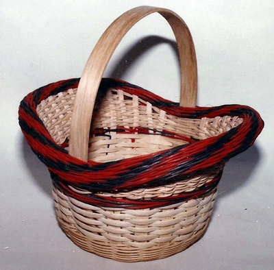 Flared Round Gift Basket Pattern