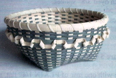 Fuji Basket Pattern, Double Wall Cathead.