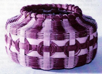 Indian Bowl with Medallions Basket Pattern