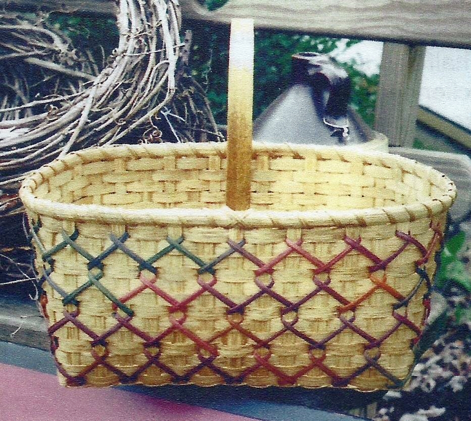 Laced Country Market Basket Pattern