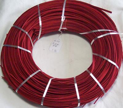 "1/4"" Flat Oval Scarlet (Christmas Red), 1 lb"