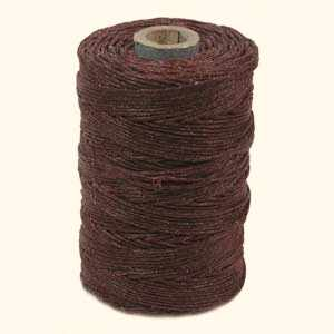 4-ply Irish Waxed Linen, Maroon