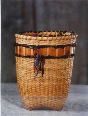 Birch Yarn Vase Basket Pattern