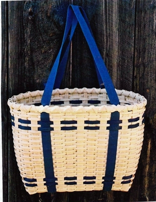 New England (Penobscot- Style) Tote Basket Pattern