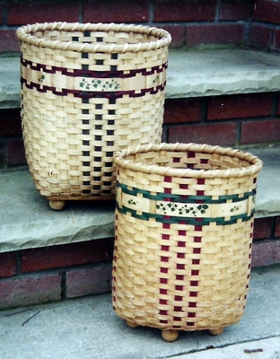 """Not So"" Circular Files Basket Pattern"