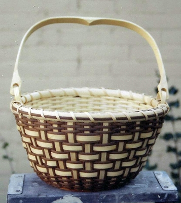 Shadow Weave Basket Pattern