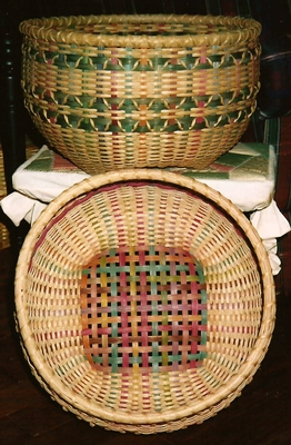 Summer Colors Basket Pattern