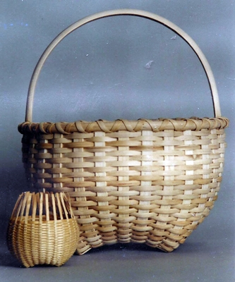 "The Hand-Shaped ""Shaker"" Cat Head Basket Pattern"