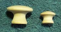 Knob, Wooden Craft - 3/4""