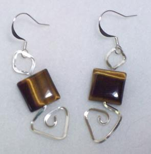 Playing with Shapes Earrings