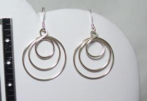 A Touch of the Orient in Copper Earrings