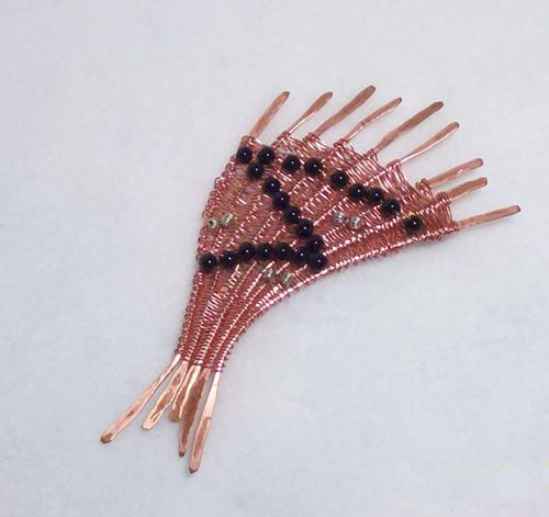 Copper Fan Pin