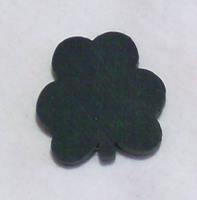 "Shamrock 1"" x 1"" dyed green or natural wood"